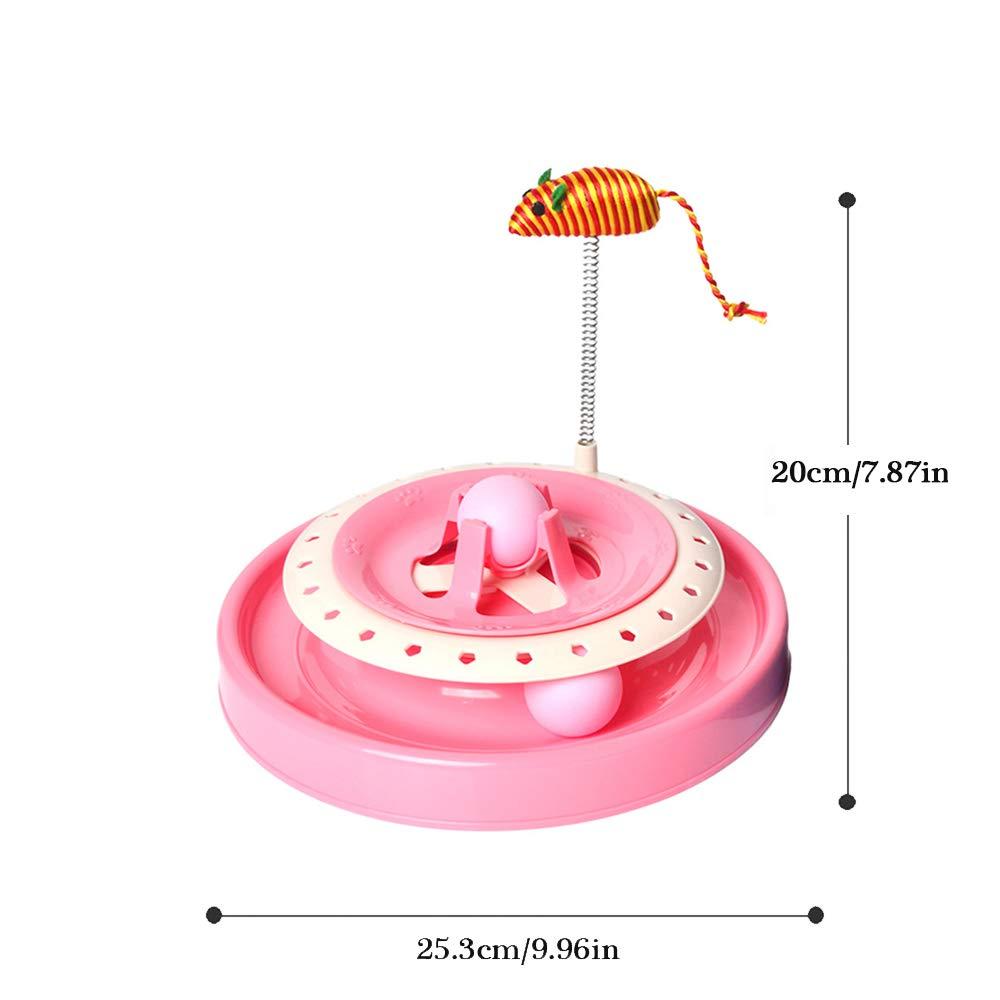 Mascotas gato interactivo juguetes-simulación de primavera ratón ...