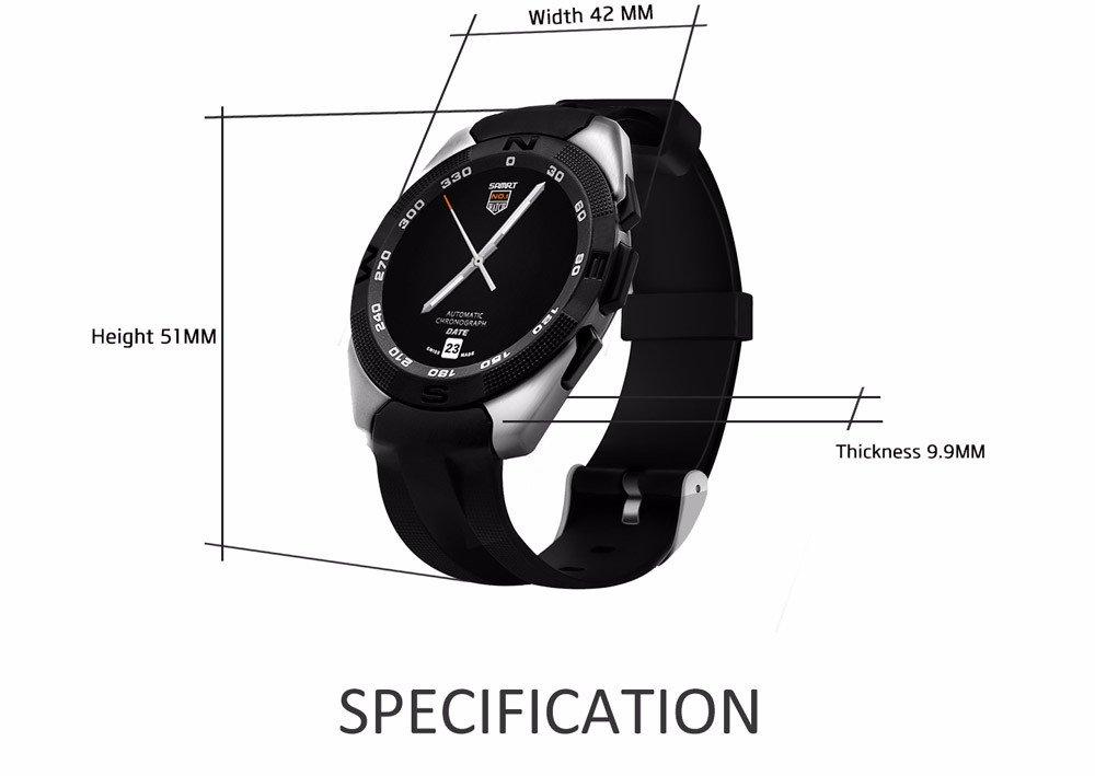 Amazon.com: BOND NO.1 G5 Smart Watch MTK2502 Smartwatch ...