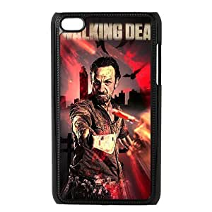 The Walking Dead The Unique Printing Art Custom Phone Case for Ipod Touch 4,diy cover case ygtg322007