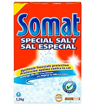 Somat Lavavajillas Sal, 1.2 Kg (Pack of 8), 1: Amazon.es: Salud y ...