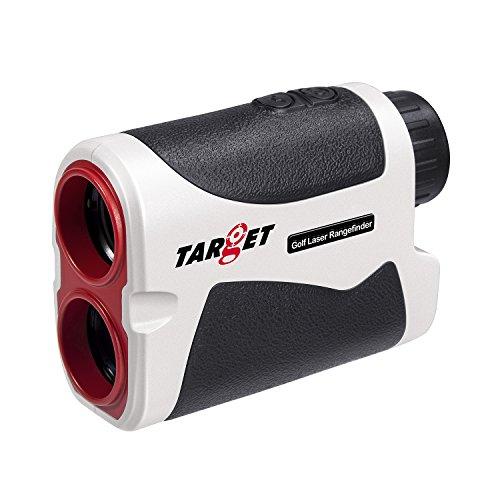 Target Golf Laser Rangefinder - Scope 5-1600 Yards, Multifunction 6X Slope Angle, Distance, Height Measurer Adjustable Focus Range Finder with Carrying Case