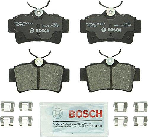 Bosch BC627 QuietCast Premium Ceramic Rear Disc Brake Pad Set
