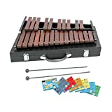 D'Luca XL225A 25 Notes Chromatic Wood Xylophone with Carrying Case
