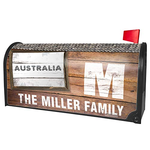 NEONBLOND Custom Mailbox Cover Australia Soccer/Futbol Balls ()