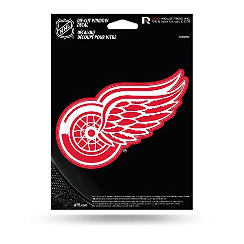 NHL Detroit Red Wings Die Cut Vinyl Decal ()