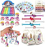 Unicorn Party Favors,Unicorn Stampers,Unicorn Tattoos,Hair Ties,Unicorn Party goodie...