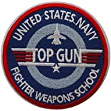 Top Gun Embroidered Badge