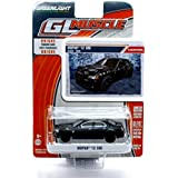 MOPAR '12 300 (Black) * GL Muscle Series 14 * 2015 Greenlight Collectibles Limited Edition 1:64 Scale Die-Cast Vehicle & Collector Trading Card