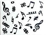 Music Symbols Eraser Pack of 4