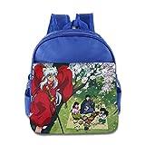 Quasi Inuyasha 14 Cartoon Custom Children Kids Girls Boys Baby School Bags Book Bags Backpack