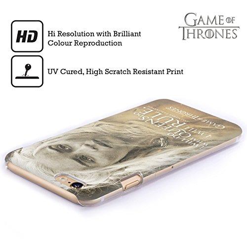 Officiel HBO Game Of Thrones Daenerys Targaryen Portraits De Personnage Étui Coque D'Arrière Rigide Pour Apple iPhone 6 / 6s