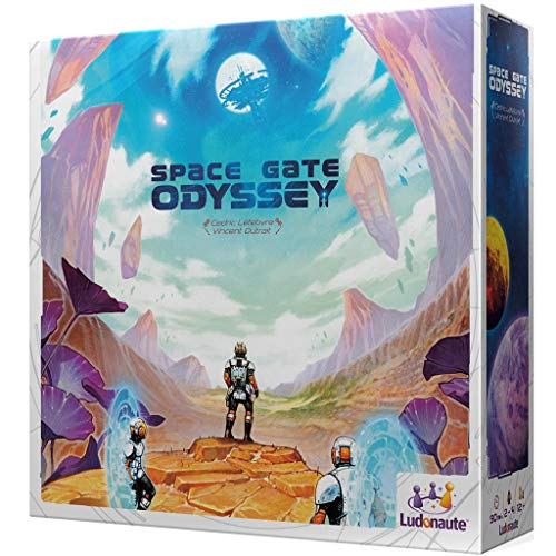 Asmodee- Space Gate Odyssey, Colour (LUSGO01SP)