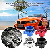 KIMISS Aluminum Alloy Water Hose Fitting Replacement for BMW 335i 11537541992 11537544638(red)