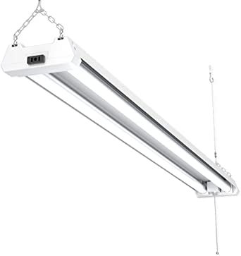 2X 4ft 42 Watt LED Shop Light Garage Workbench Ceiling Lamp 5000K Daylight ST