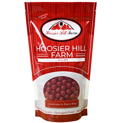 Hoosier Hill Farm Cherry Fruit Sours, 2.5 lbs - Fruit Candy Balls Sours