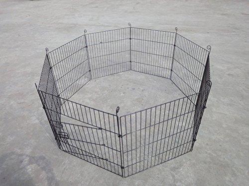 61-x-61-CM-pour-jouer-Stylo-pour-chien-pliable-cage-pour-lapinchiot-Run-Clture-de-jardin