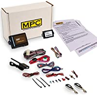 Complete 1-Button Remote Start Kit For 2009-2013 Mazda 3 Includes Bypass and (2) Extended Range Remotes