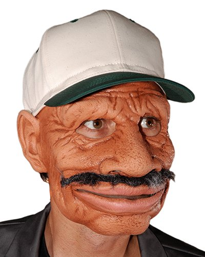 Zagone I got the Blues Mask, Older Man, Mustache & Cap -