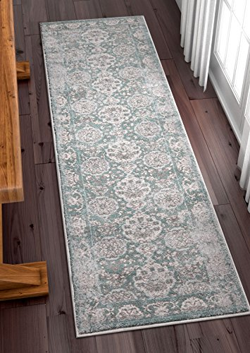 Modern Weave Modern Distressed Traditional Vintage Persian Floral 2x7 (2'3