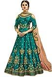 ziya Indian/Pakistani Designer Long Gown Type Style Wear Anarkali Salwar Suit Aashirwad 002 (M-40)
