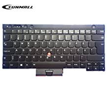SUNMALL Keyboard replacement with Backlight and Pointer for Lenovo IBM ThinkPad X230 X230I X230T X230I T430 T430S T430I L430 T530 T530I W530 L530 UI Layout Black (with Big Pointer)