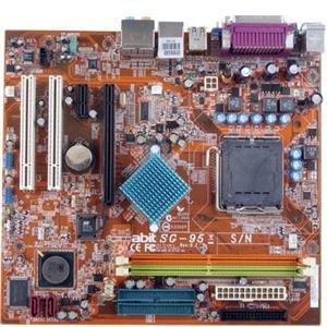 Abit SG-95 MicroATX Motherboard with SiS 662NB/966LSB (LGA775) (4 Motherboard Lga775 Pentium)