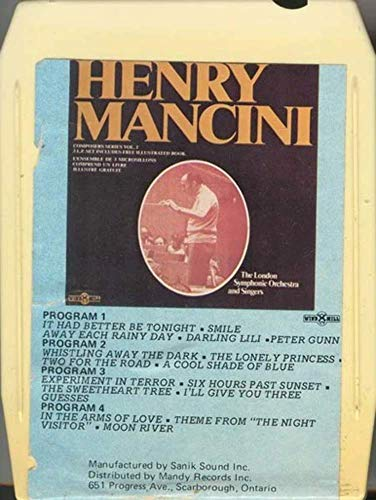 (LONDON PHILHARMONIC ORCHESTRA Composers Series Volume 2 Henry Mancini 8 Track Tape)