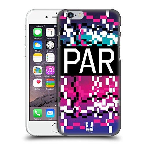 Head Case Designs Parigi Città Della Moda Cover Retro Rigida per Apple iPhone 6 / 6s