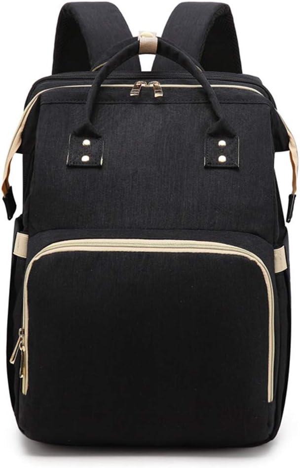 sac /à langer portable pliable avec poches isol/ées grande capacit/é multifonction r/ésistant /à leau de voyage Sac /à langer 2 en 1 pour b/éb/é