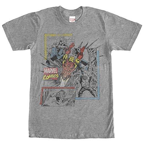 Marvel+Comics+Retro+Shirt Products : Marvel Retro Comic Book Print Mens Graphic T Shirt