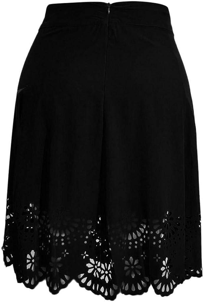 Faldas Mujer Cortas Verano 2019 Elegante Tallas Grandes PAOLIAN ...