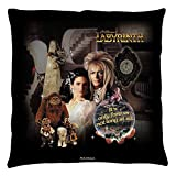 Labyrinth 1986 Family Fantasy Adventure Movie Only Forever Throw Pillow