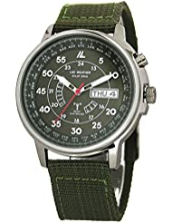 [LAD WEATHER] Solar powered Automatic time correction Radio wave Perpetual calendar Watch for Men
