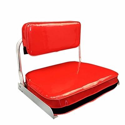 36cm*25cm Chaises pliables portatives rouges de pêche pour le plein air voyageant la pêche de camping