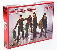 ICM Models WWII German Firemen Building Kit