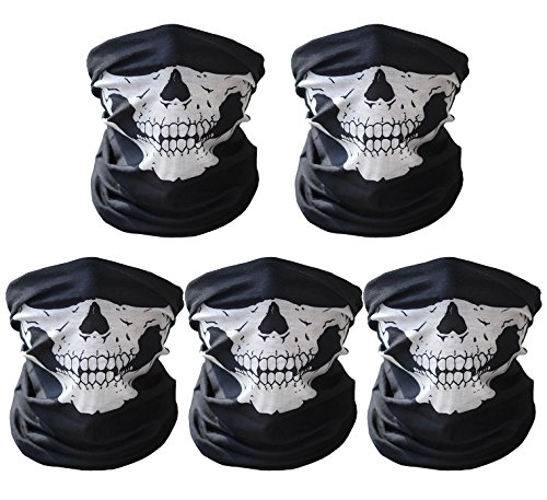 Skull Face Mask For Motorcycles - 6