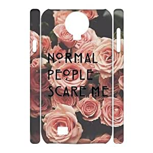 American Horror Story DIY 3D Cover Case for SamSung Galaxy S4 I9500,personalized phone case ygtg-770310 WANGJING JINDA