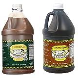 The Pepper Plant Variety Pack (1) BBQ Sauce 1/2 Gallon Jug (1) Chunky Garlic Hot Sauce 1/2 Gallon Jug (Pack of 2)