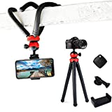 Flexible and Sturdy Phone Tripod 12 Inch Mini Tripod Stand Smartphone Tripod