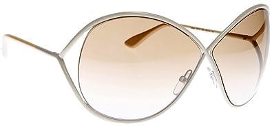 Amazon.com  TOM FORD LILLIANA TF131 color 25G Sunglasses  TOM FORD ... a1f2d0110fc
