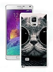 Custom-ized Christmas Cat White Samsung Galaxy Note 4 Case 44