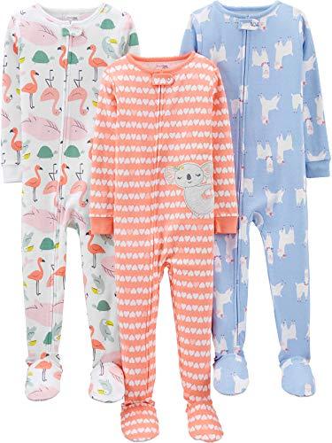 Simple Joys by Carter's Girls' Toddler 3-Pack Snug