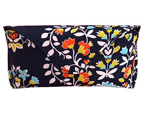 Vera Bradley Sunglass / Eyeglass Case in Chandelier Floral