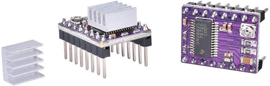 DRV8825 Driver Color : Black, Size : One size USB Cable For Cnc Machine Feixunfan 3D Printer Mainboard 3D Scanner 3D Scanner V1.0 Board Integrated Motherboard