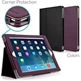 CaseCrown Bold Standby Pro Case (Purple) for iPad 4th Generation with Retina Display, iPad 3 & iPad 2 with Sleep / Wake, Hand Grip, Corner Protection, & Multi-Angle Viewing Stand
