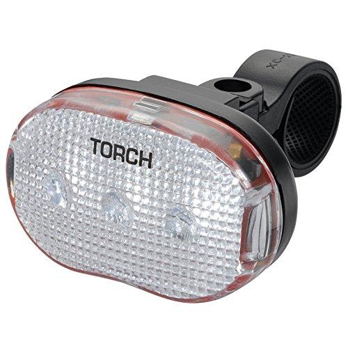 Noir Torch TR54013 Eclairage Avant pour v/élo Mixte Adulte