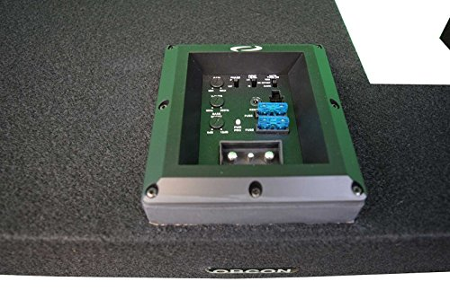 OBCON - Loaded and Amplified Dual 10'' Sealed Speaker Box for 2002 - 2008 Dodge Ram Quad Cab by OBCON (Image #3)