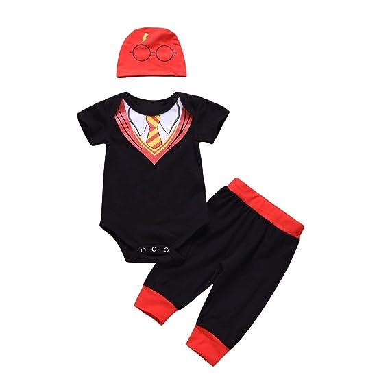 Puseky Trajes de Caballero para bebés recién Nacidos Traje ...