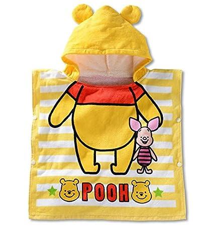 13f52a89eb Amazon.com  Kid Child Baby Hooded Poncho Swim Beach Bath Towel Wear ...