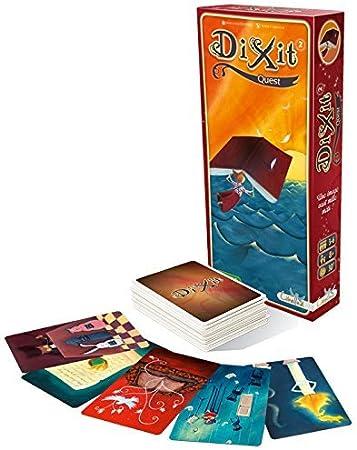 Asmodee- Dixit 2 Quest, Juego de Mesa edición Italiana, Color DIX02IT: Amazon.es: Juguetes y juegos